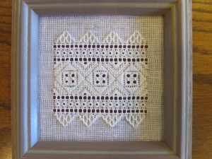 St Paul Snowflake is an introduction to Ukrainian whitework embroidery, designed and taught by Terri Bay.